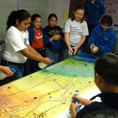 Check out this Arroyo Colorado watershed model for use in your classroom!